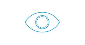 Avaliação e testes das lentes de contato